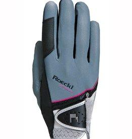 Roeckl Handschuh Madrid grau