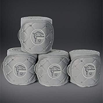 Eskadron Bandagen Fleece Crystal silvergrey
