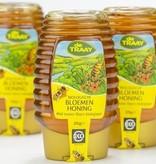 Biologische Bloemen Honing  Knijpfles