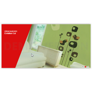ORACAL® 631 Exhibition Cal 1,26cm - Indoor vinyl Mat Intermediate