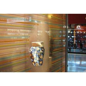 ASLAN DFL-302 - 1,37 meter - Zandstraaleffect glazen decoratiefilm met een zilverachtige geëtste glaslook voor eenvoudige droge applicatie