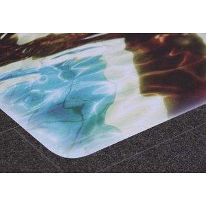 ASLAN DFP-43 Witte, sterk antislip en direct bedrukbare grafische vloerfilm met R13-certificering