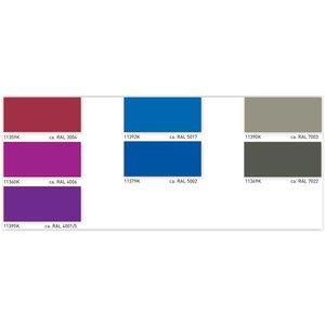 ASLAN  CT-113 Transparant gekleurde Raam-Folie 1 meter x 125cm + 20 kleuren