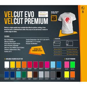SEF-Velcut Premium Flock folie - EVO 50 cm