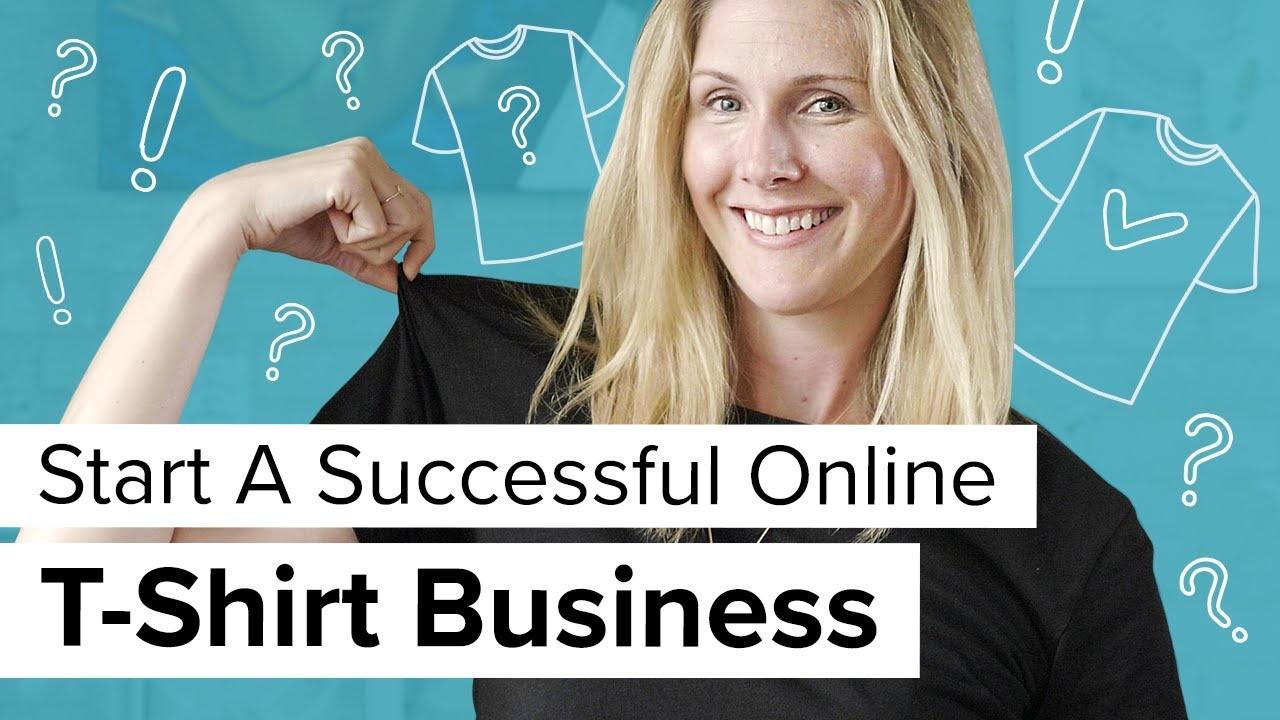 Hoe u een online T-shirtbedrijf start