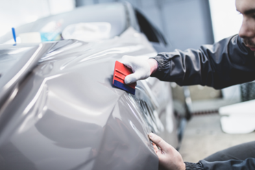 How-to vinyl wrap a car & care for it - Turtle Wax - vintage vinyl