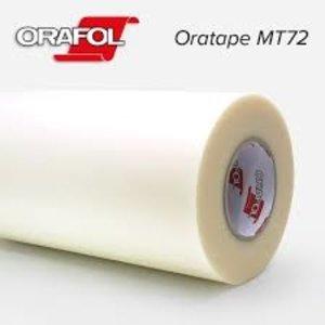 Semi Transparant Papier Applicatie Tape  - 122 breed - extreem vlak aanbrengen