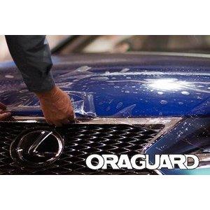 ORAGUARD ® 283 Anti steenslagfolie. TPU  - 152 cm 130mu. Zeer transparant. 7 jaar bescherming. Self healing. UV Resistent