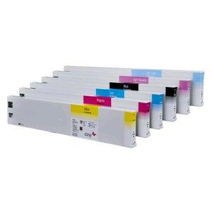 Eco solvent cartridge premiumum label voor Roland, Mutoh, Mimaki, Agfa, Océ en Xerox.