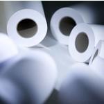 Papier Water en Solvent papier op de rol in diverse breedtes
