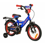 2Cycle Jongensfiets 14 inch Blauw-Rood