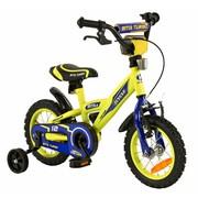 2Cycle Kinderfiets 12 inch BMX blauw-geel