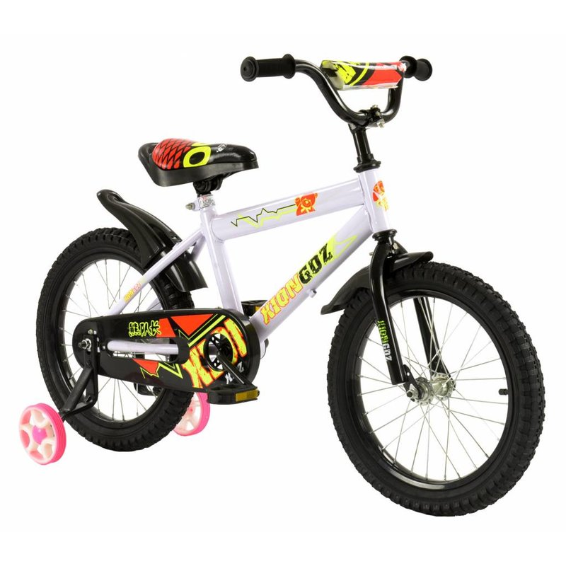 2Cycle Jongensfiets 16 inch BMX Wit (1602)