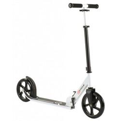 2Cycle Step Aluminium Zwart-Wit Met Grote Wielen