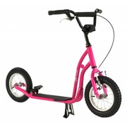 2Cycle Step Roze met Luchtbanden 12 inch