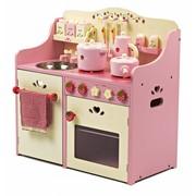 P&M Houten Speelkeuken Roze Strawberry
