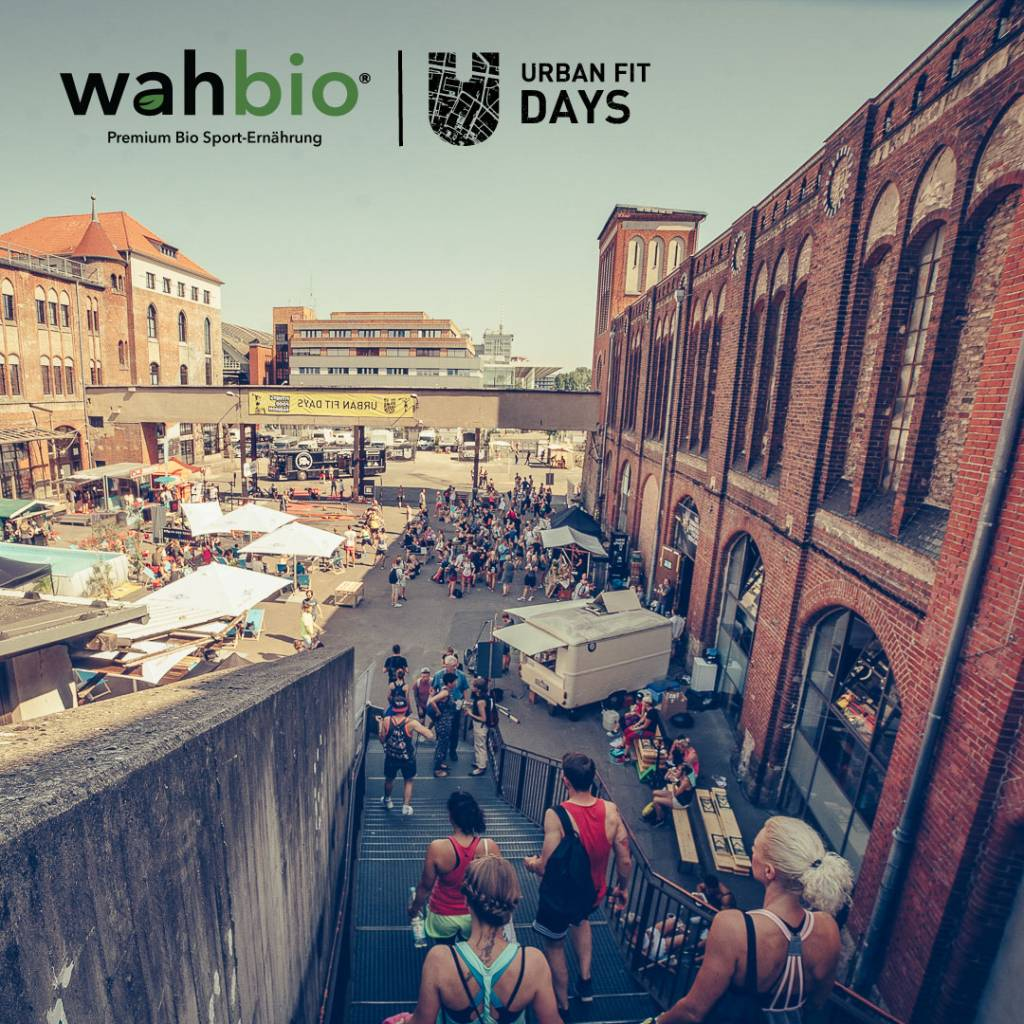 Wahbio @ Urban Fitness Days Berlin 2017