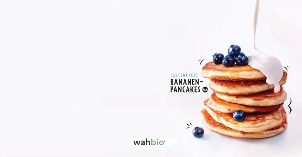 Glutenfreie Bananen-Pancakes