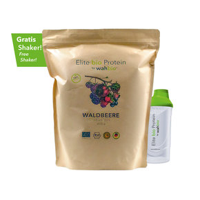 Elite Organic Protein by wahbio | Mixed Berries | 2000 Gr