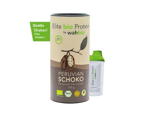Elite Organic Protein | Peruvian Chocolate | 750 Gr