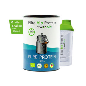 Elite Organic Protein by wahbio | Pure Protein | 450 Gr