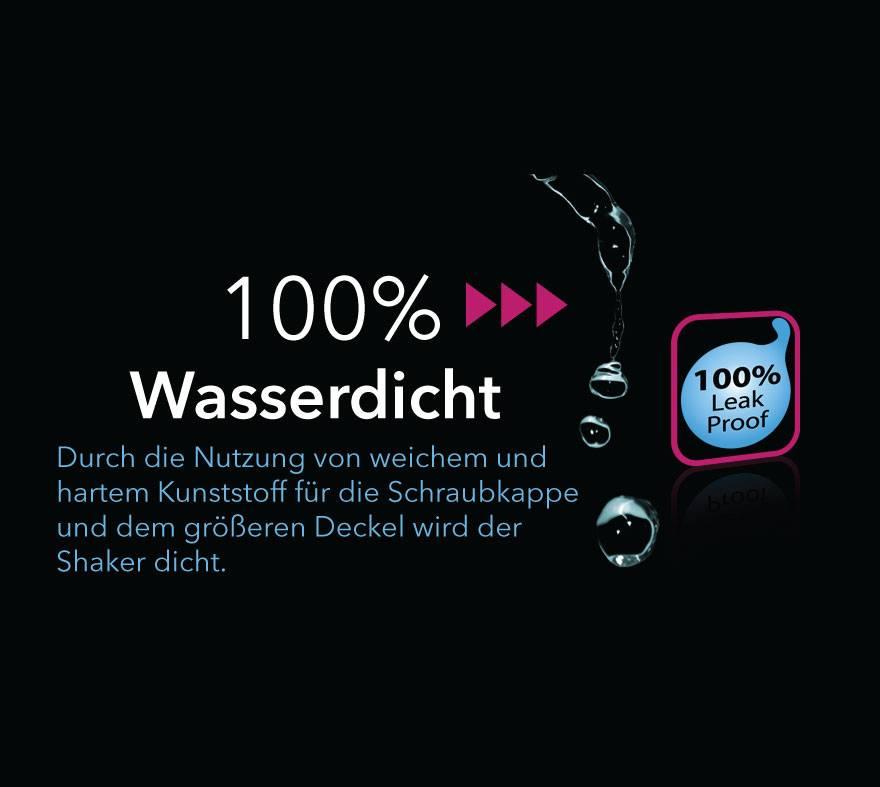 Protein | Eiweiß Travel Shaker 300ml | BPA und DEHP frei