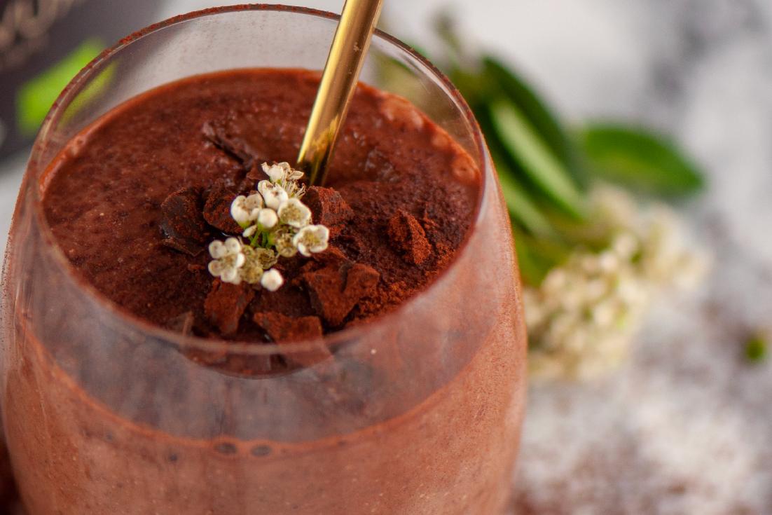 Bio Muskelaufbau Schokoladen-Shake