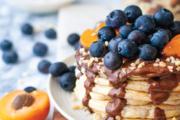 Organic high-protein chia pancakes