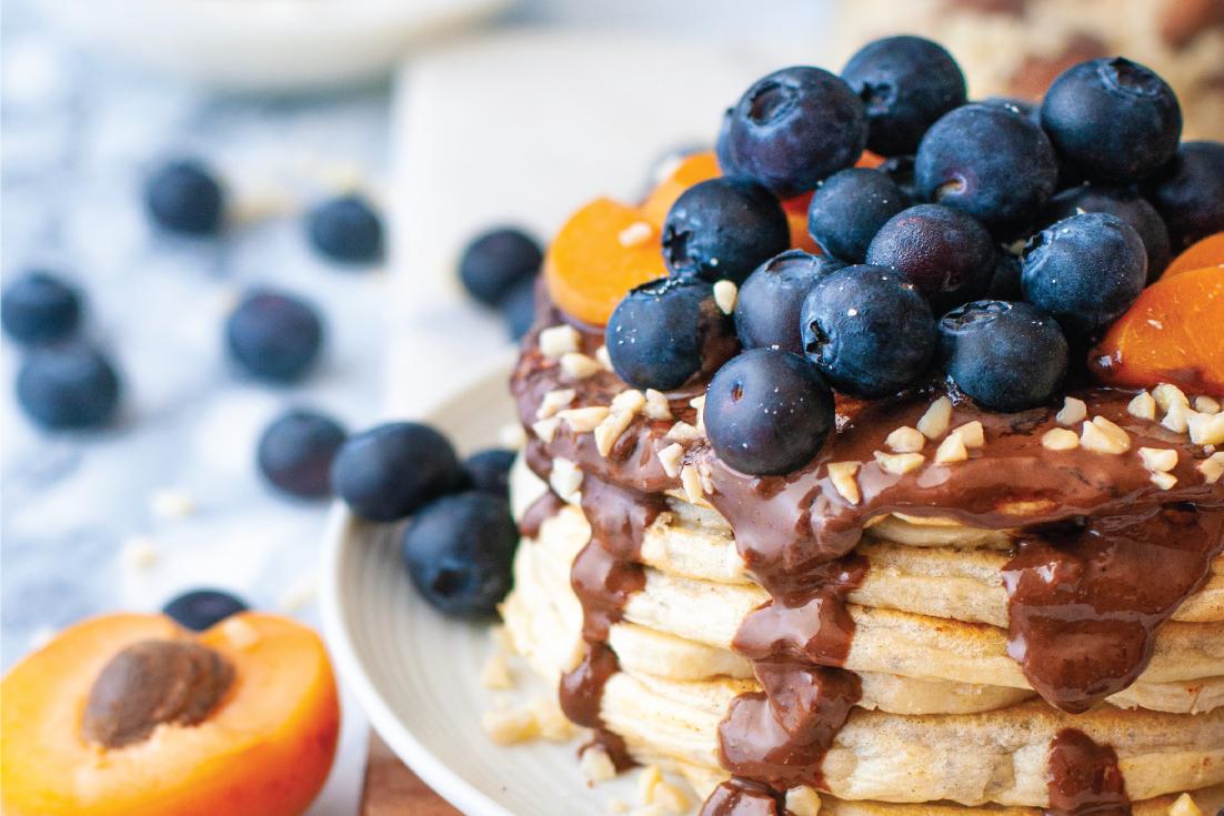 High-Protein bio Chia-Pancakes