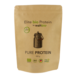 Elite Organic Protein by wahbio | Pure Protein | 450 Gr