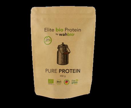 Elite Organic Protein by wahbio   PUR Protein   450 Gr