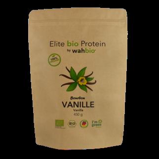 Elite Organic Protein by wahbio | VANILLA Protein | 450 Gr