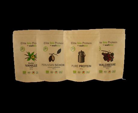 Elite bio Protein by wahbio! Multipack