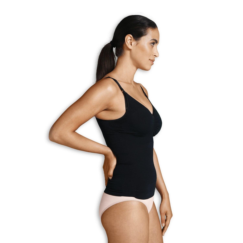Carriwell Voedingshemd figuurcorrectie - Zwart