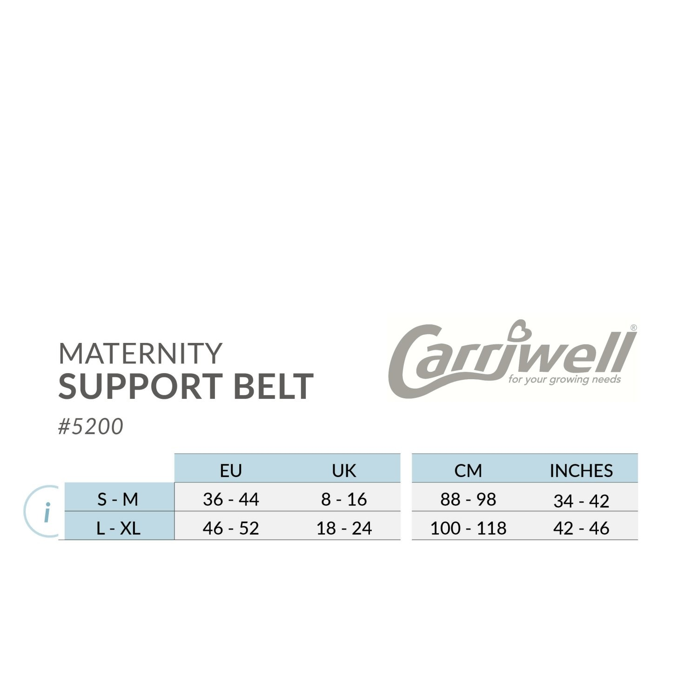 Carriwell Carriwell Verstelbare Buikband - Zwart