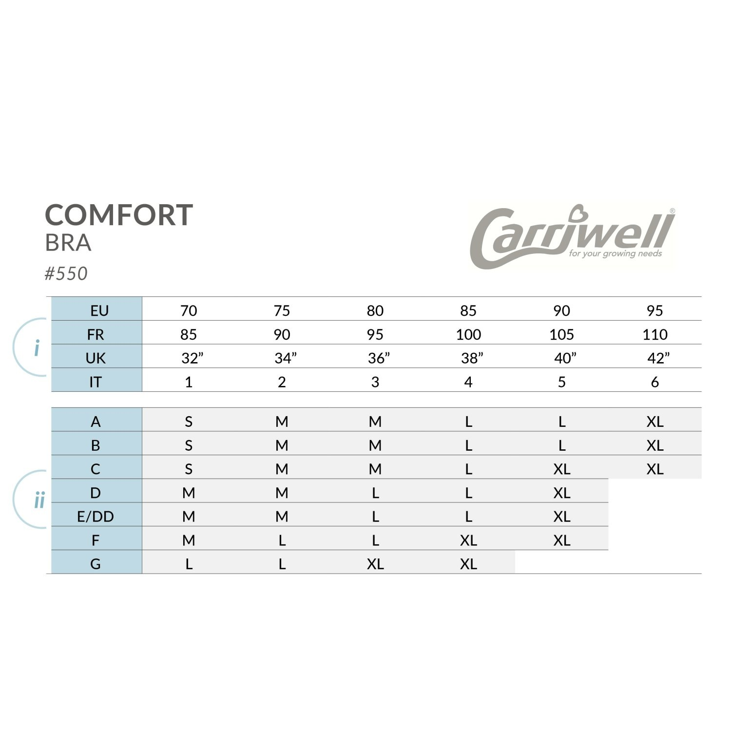 Carriwell Carriwell Comfort Slaapbeha Wit