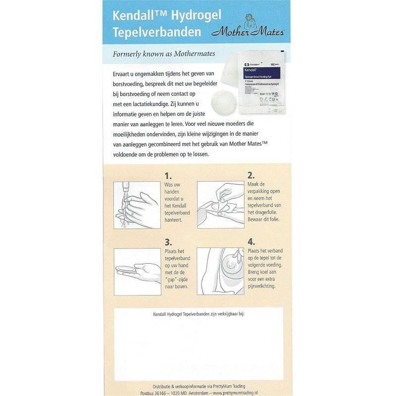 Flyer Kendal Hydrogel Tepelverbanden (25 stuks)