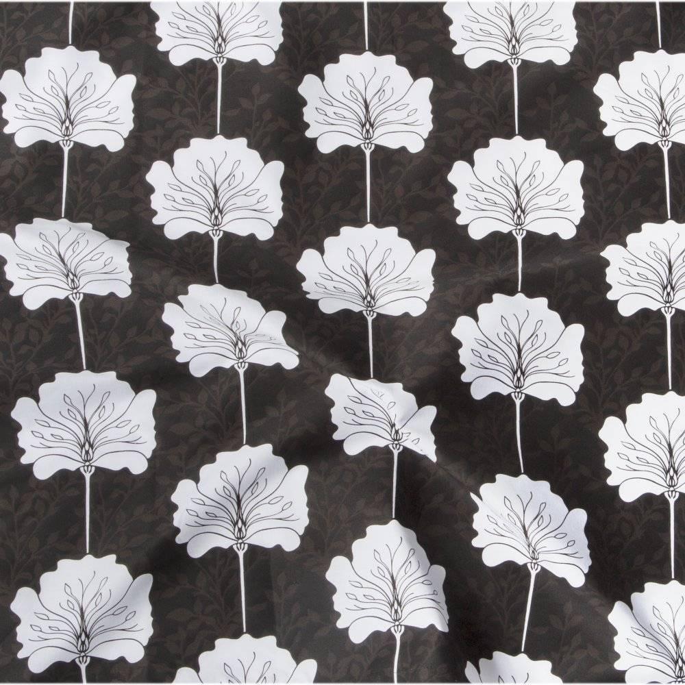 Voedingsdoek Lily (zwart/wit/grijs)