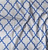 Voedingsdoek Ryden (grijs/wit/blauw)