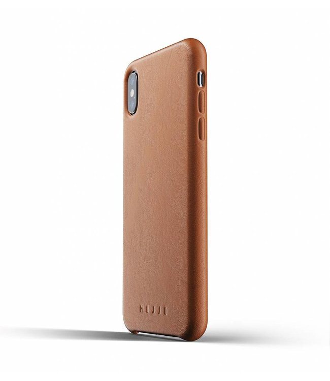 MUJJO Leather Case for iPhone Xs Max - Tan