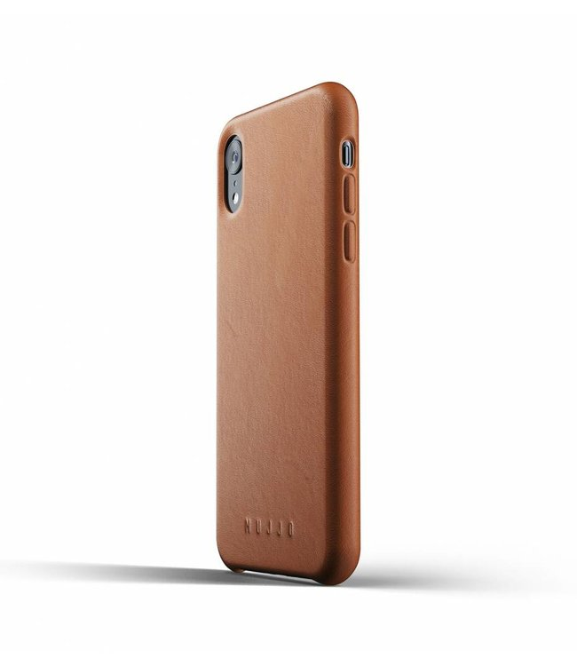 MUJJO Leather Case for iPhone Xr - Tan