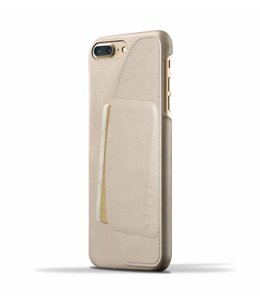 MUJJO Leather Wallet Case for iPhone 8/7 Plus - Champagne