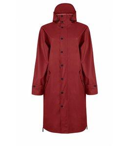 Maium Raincoat Dark Red