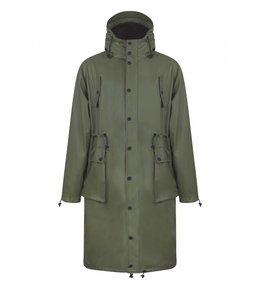 Maium Raincoat Parka Army Green