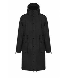 Maium Raincoat Parka Black
