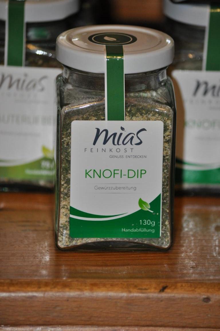 Knofi-Dip Gewürzzubereitung 150 g von Mias Feinkost