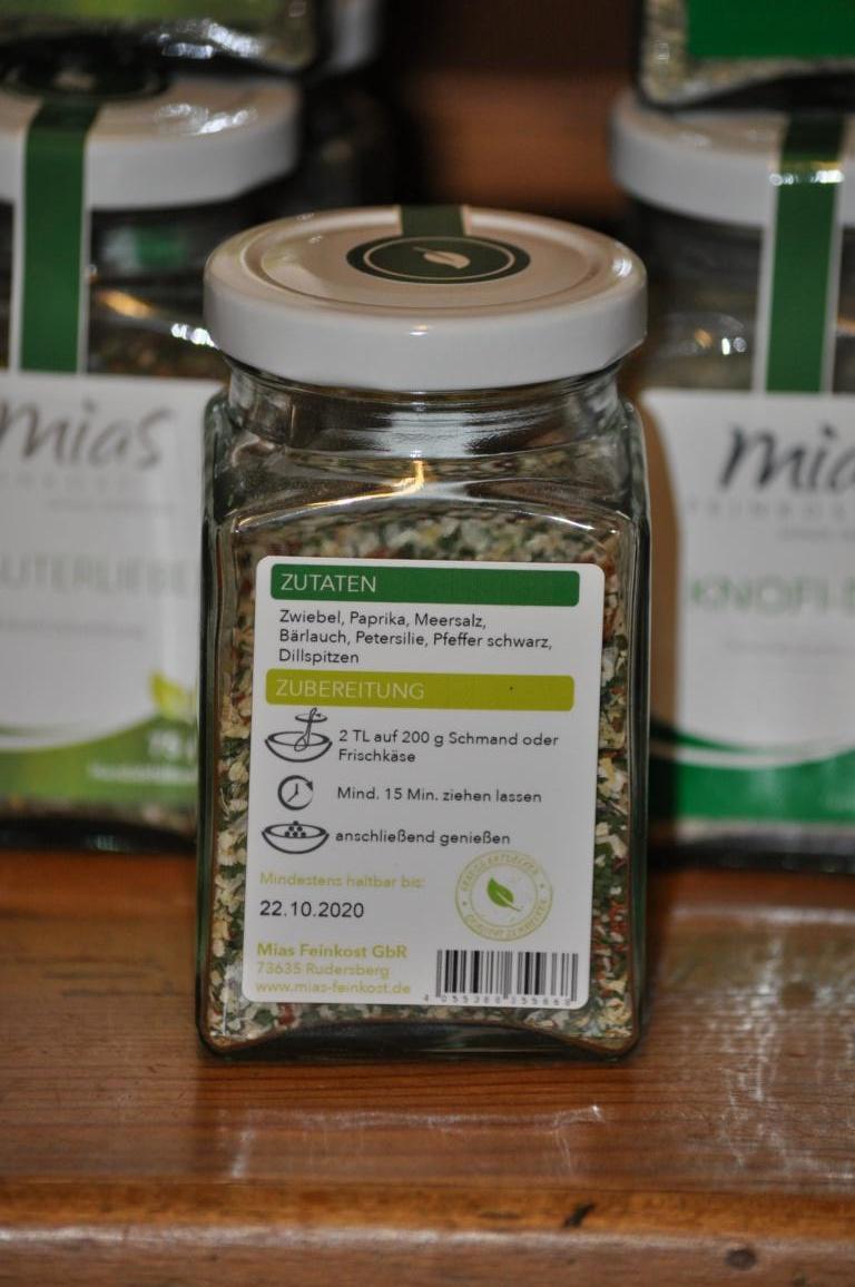 Mias Feinkost Harmonie Kräuterzubereitung 100 g von Mias Feinkost