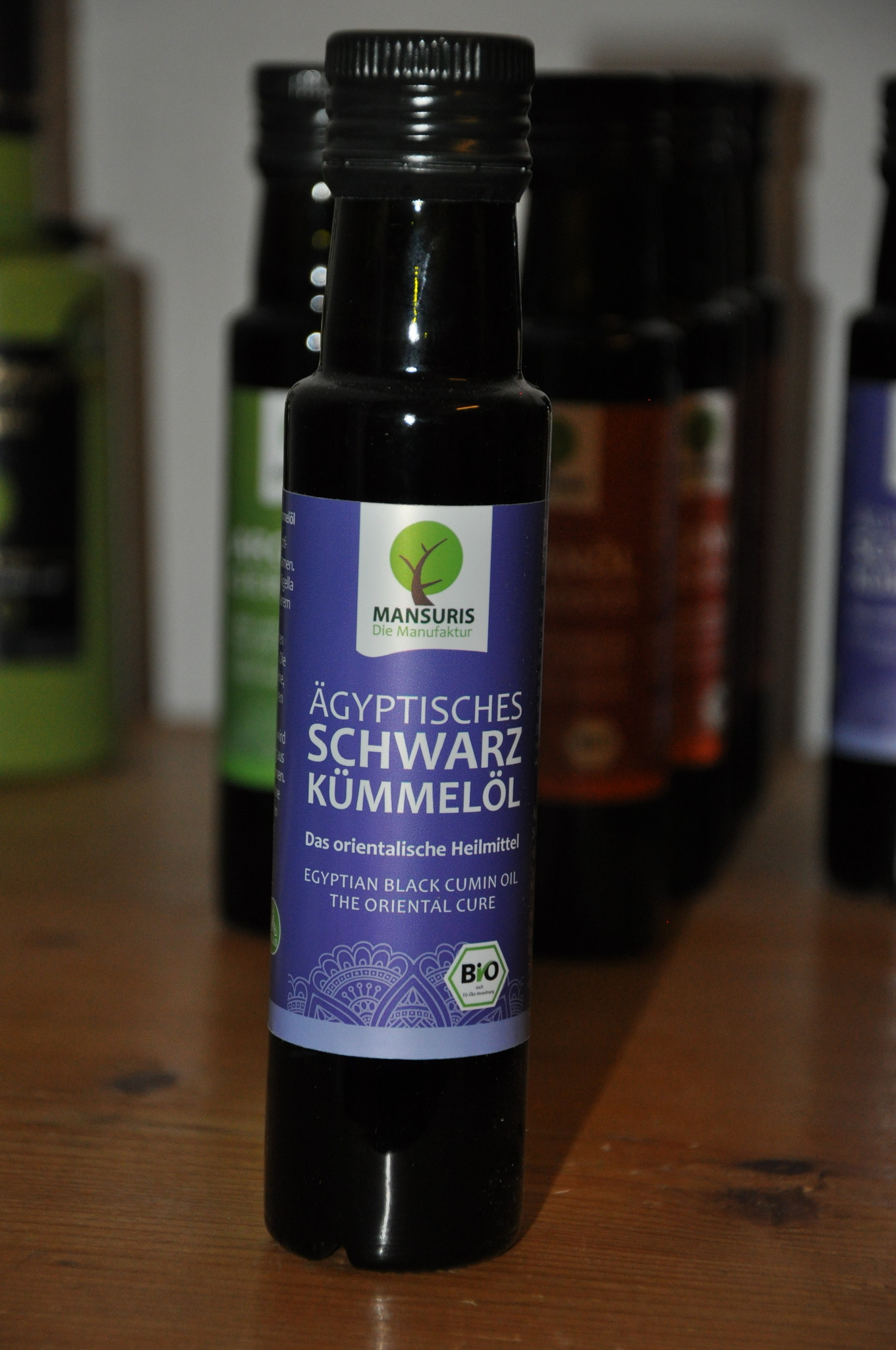 Kraichgauer Ölmühle Ägyptisches Bio Schwarzkümmelöl 100 ml