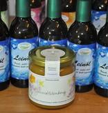 Kraichgauer Ölmühle Spar-Set 5 Flaschen Leinöl + 1 Glas Sommerblütenhonig. Sie sparen 6,40 Euro!
