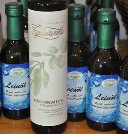Kraichgauer Ölmühle Spar-Set 5 Flaschen Leinöl + 1 Fl. Figueirinha Olivenöl